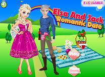 Elsa si Jack Intalnire Romantica
