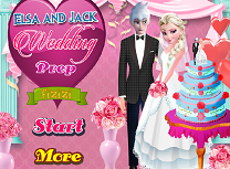 Elsa si Jack Pregatiri de Nunta