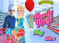 Elsa si Jack Pregatiri de Petrecere