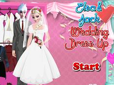 Elsa si Jack Tinuta de Nunta