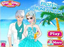 Elsa si Jack in Luna de Miere