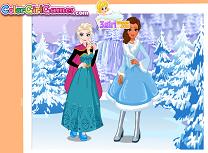 Elsa si Moana Vacanta de Iarna