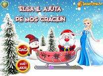 Elsa si Mos Craciun