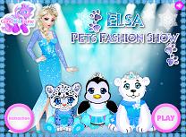 Elsa si Parada Animalelor