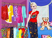 Elsa si Petrecerea in Pijamale
