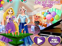 Elsa si Rapunzel Petrecere