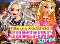 Elsa si Rapunzel la Paris