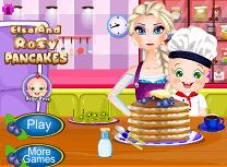 Elsa si Rosy Gatesc Clatite