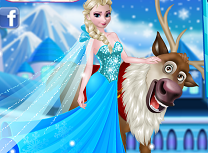 Elsa si Rudolph in Padure