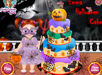 Emma Tort de Halloween