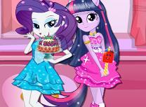 Equestria Girls Magazinul de Dulciuri