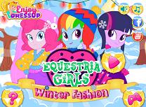 Equestria Girls Moda de Iarna