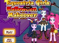 Equestria Girls Pregatiri de Halloween