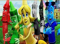 Eroii din Orasul Culorilor Obiecte Ascunse
