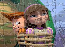 Eu si Cavalerul Meu de Facut Puzzle