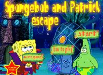 Evadarea lui Spobgebob si Patrick