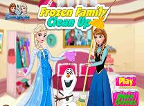 Familia Frozen Curatenie