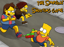 Familia Simpson Bataie cu Apa