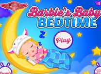 Fetita lui Barbie la Somn