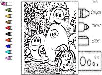 Filmul Emoticoanelor de Colorat
