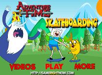 Fin si Jake cu Skateboardul