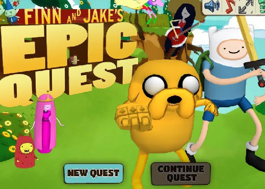 Finn si Jake Epic Quest
