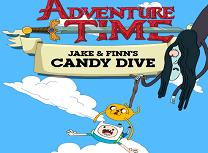 Finn si Jake Sarituri Dupa Bomboane