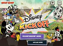 Fotbal cu Mickey Mouse