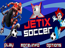 Fotbal cu Personajele Jetix