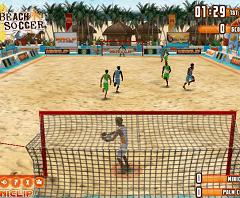 Fotbal pe Plaja 3D