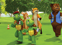 Franklin si Prietenii Puzzle