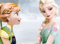 Frozen Puzzle cu Anna si Elsa