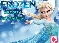 Frozen de Colorat