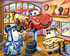 Fulger Mcqueen - Numere Ascunse
