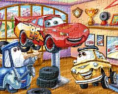 Fulger Mcqueen - Puzzle