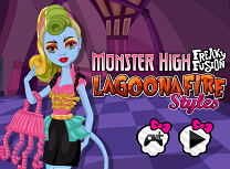 Fuziunea Monster High Lagoona Fire