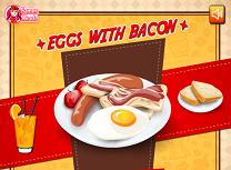 Gateste Oua cu Bacon
