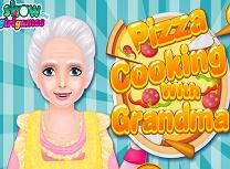 Gateste Pizza cu Bunica