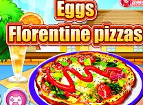 Gateste Pizza cu Oua