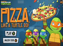 Gateste Pizza cu Testoasele Ninja