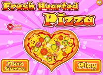 Gateste Pizza in Forma de Inima