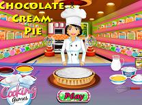 Gateste Placinta cu Crema de Ciocolata