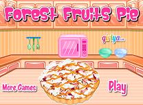 Gateste Placinta cu Fructe de Padure
