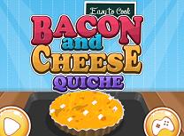 Gateste Tarta cu Branza si Bacon