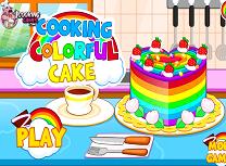 Gateste Tort Colorat