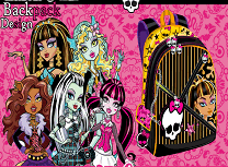 Ghiozdanul Monster High