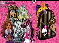 Ghiozdanul Monster High
