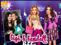 Gigi si Kendall Cele mai Bune Prietene