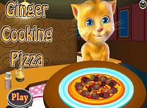 Ginger Gateste Pizza