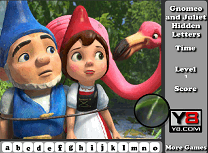 Gnomeo si Julieta Litere Ascunse